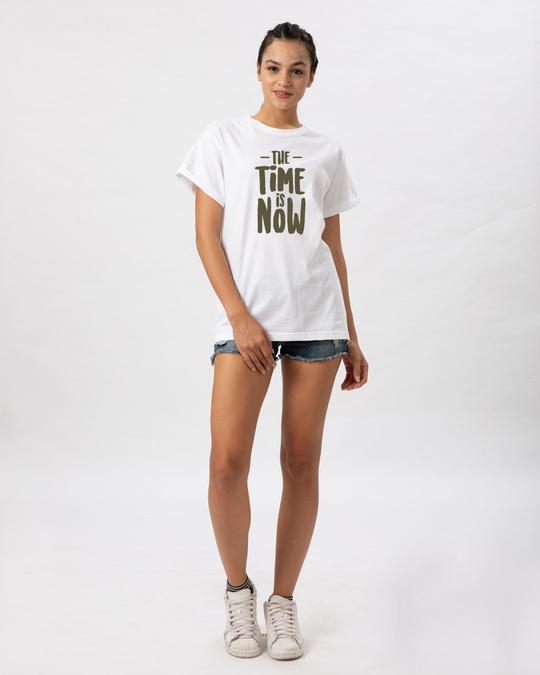 Shop The Time Is Now Boyfriend T-Shirt