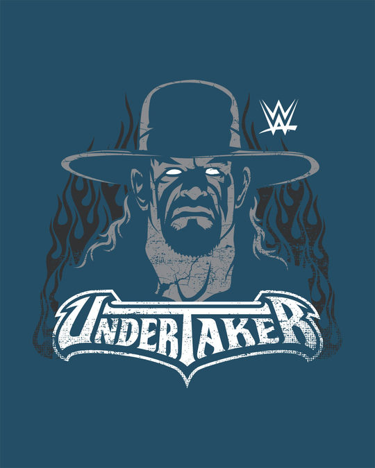 Shop The Undertaker Boyfriend T-Shirt (GID) (WWEL)