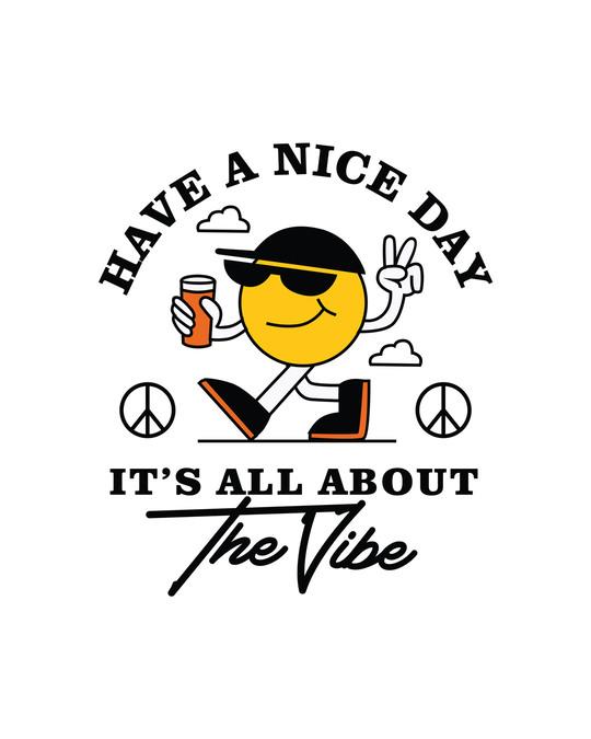 Shop The Vibe Round Neck Vest White