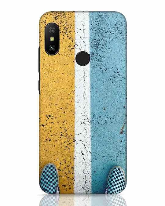 Shop The Vibrant Path Xiaomi Redmi 6 Pro Mobile Cover-Front