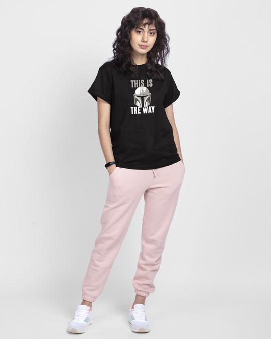 Shop The Way  Boyfriend T-Shirts-Full