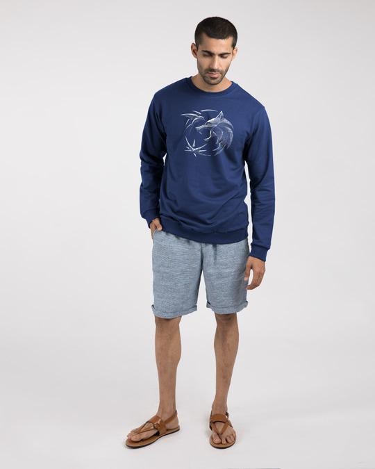 Shop The Witcher Emblem fleece Light Sweatshirts-Design