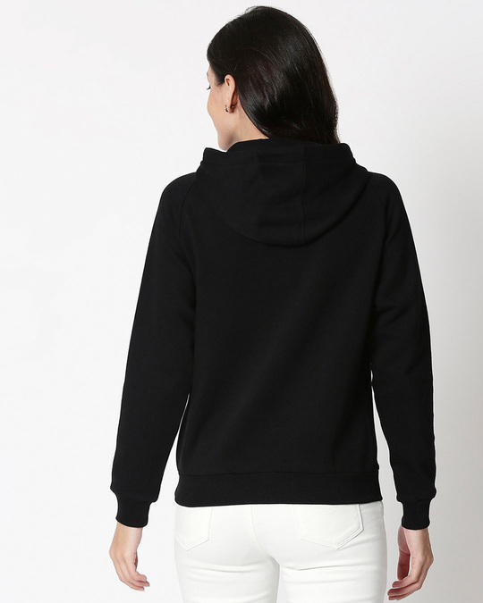 Shop The World Will Adjust Sweatshirt Hoodie Black-Back