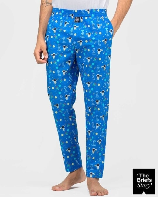 Shop Thebriefsstory TO THE MOON & BACK -PJ-M-Front
