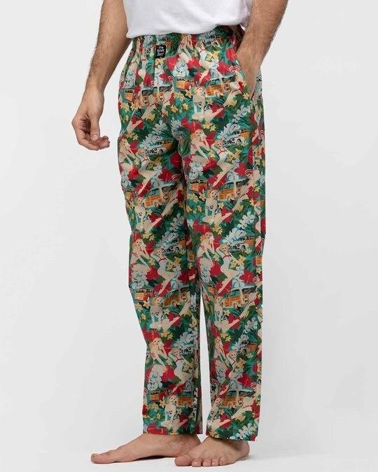 Shop Thebriefstory Tropical Print Pyjama-Back