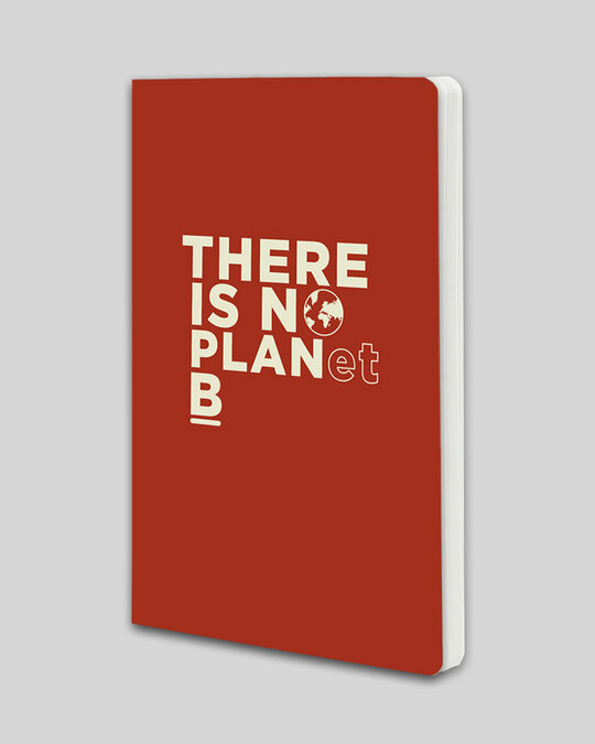 Shop There Is No Planet B Notebook-Back
