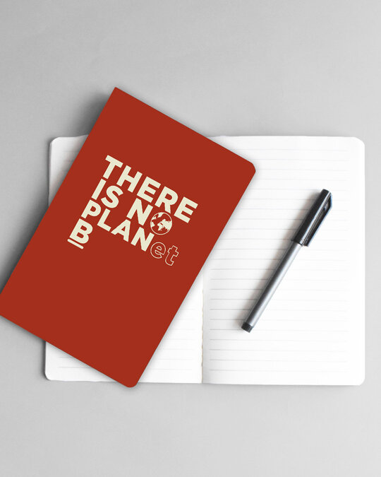 Shop There Is No Planet B Notebook-Full