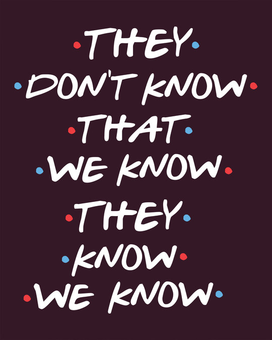 Shop They Don't Know Sweatshirt