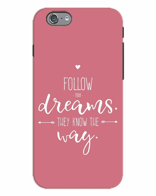 Shop They Know The Way iPhone 6 Mobile Cover-Front