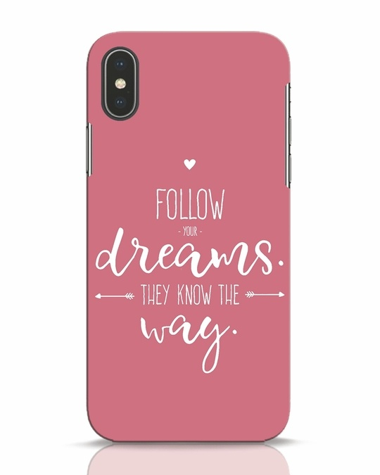 Shop They Know The Way iPhone X Mobile Cover-Front