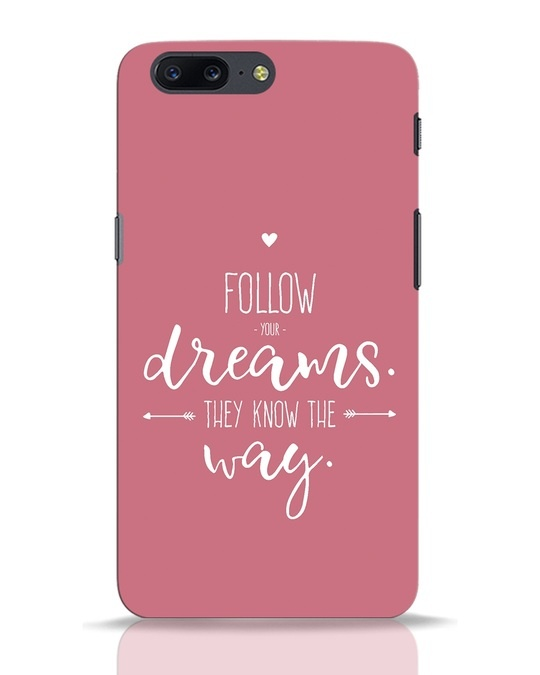 Shop They Know The Way OnePlus 5 Mobile Cover-Front