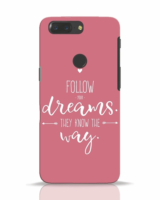 Shop They Know The Way OnePlus 5T Mobile Cover-Front