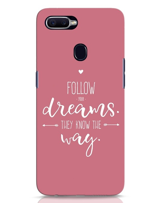 Shop They Know The Way Oppo F9 Pro Mobile Cover-Front