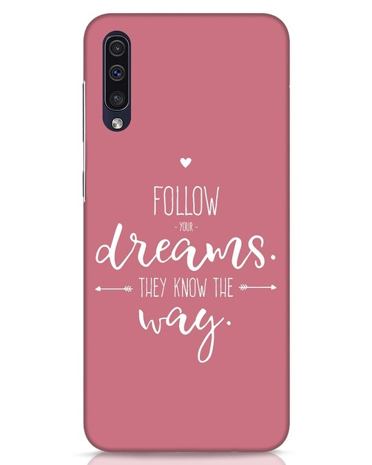 Shop They Know The Way Samsung Galaxy A50 Mobile Cover-Front