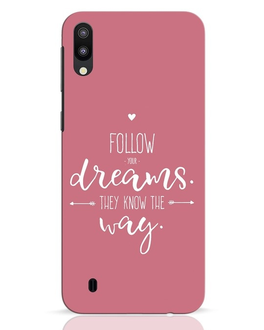 Shop They Know The Way Samsung Galaxy M10 Mobile Cover-Front