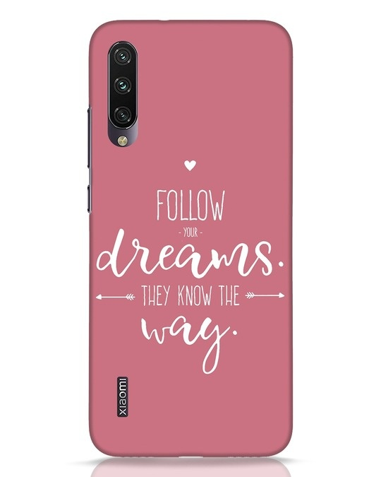 Shop They Know The Way Xiaomi Mi A3 Mobile Cover-Front