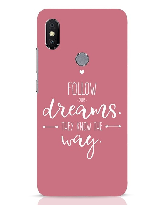 Shop They Know The Way Xiaomi Redmi Y2 Mobile Cover-Front