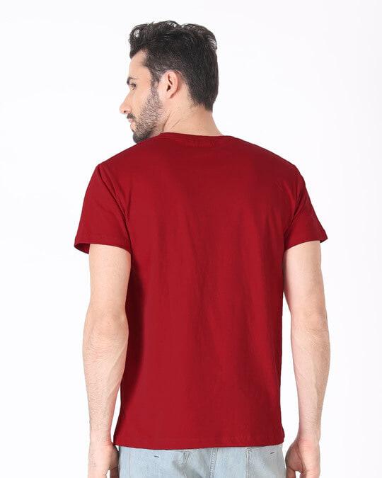Shop Think Outside Grunge Half Sleeve T-Shirt-Full