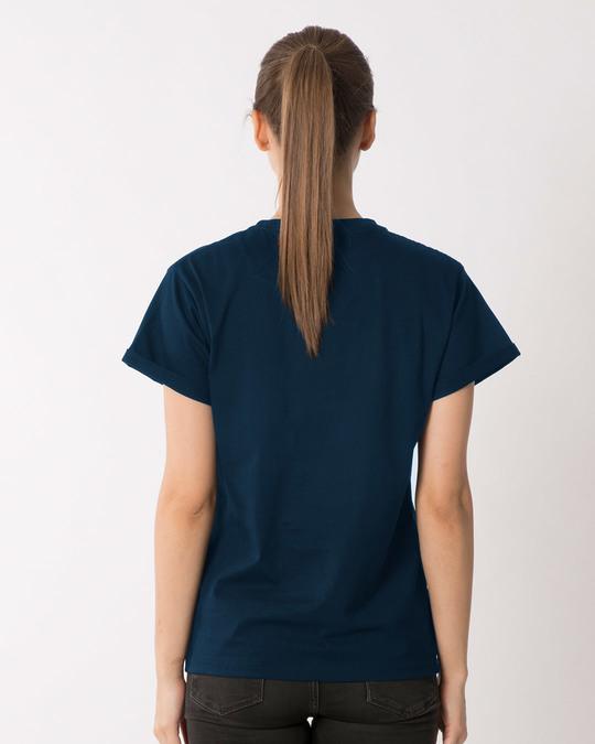 Shop Think Pawsitive Boyfriend T-Shirt-Full
