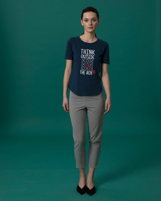 Shop Think Tic Tac Basic Round Hem T-Shirt