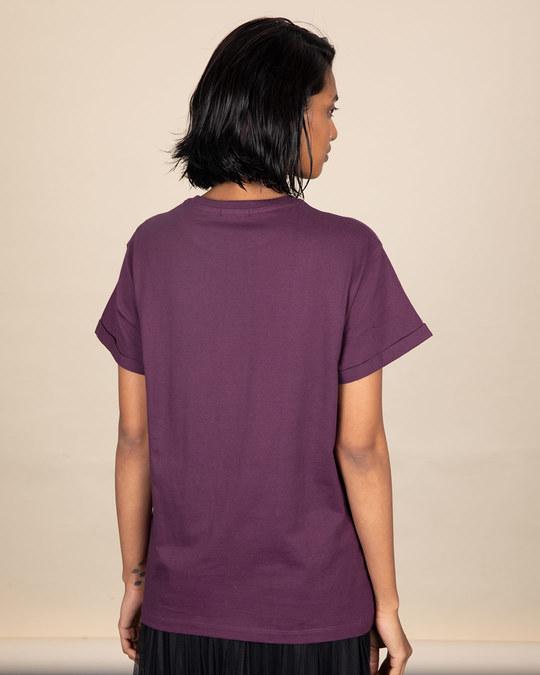 Shop Thinking About Food Boyfriend T-Shirt-Back