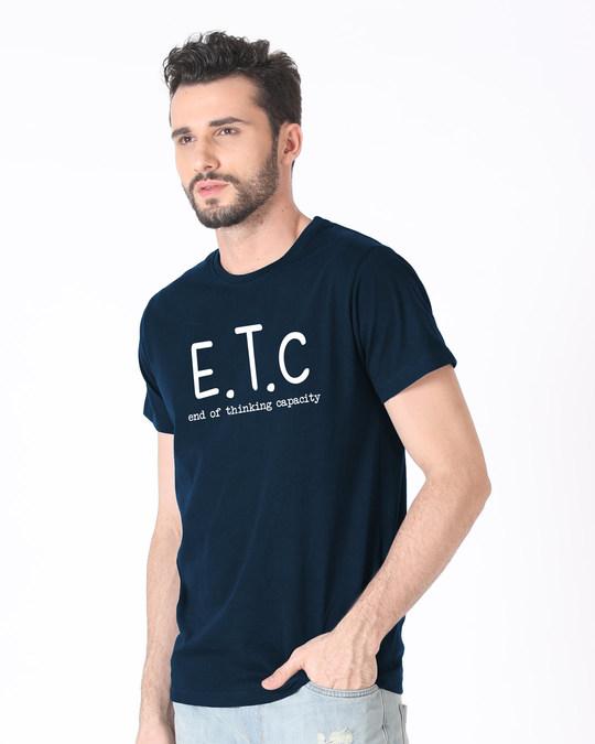 Shop Thinking Capacity Half Sleeve T-Shirt-Full