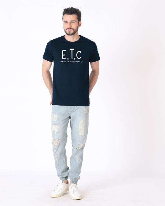 Shop Thinking Capacity Half Sleeve T-Shirt