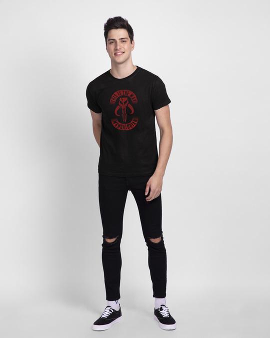 Shop This Is The Way Mandalorian Half Sleeve T-Shirt (SWL)-Design
