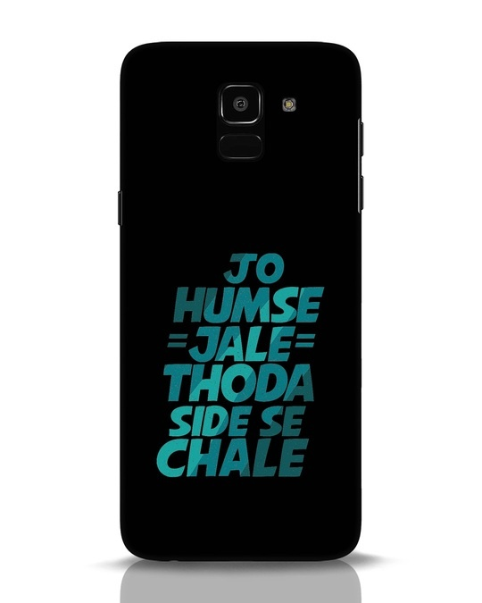 Shop Thoda Side Se Chale Samsung Galaxy J6 Mobile Cover-Front