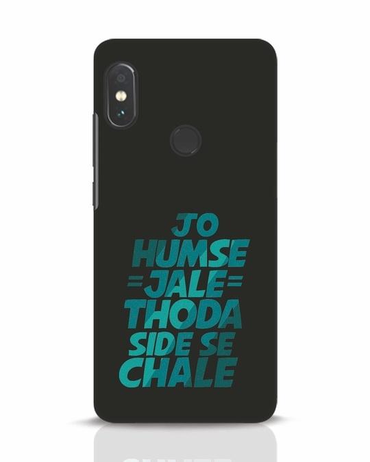 Shop Thoda Side Se Chale Xiaomi Redmi Note 5 Pro Mobile Cover-Front
