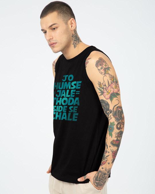 Shop Thoda Side Se Chaley Vest-Full