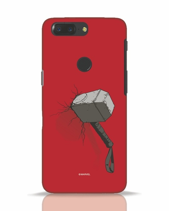 Shop Thor Hammer OnePlus 5T Mobile Cover-Front
