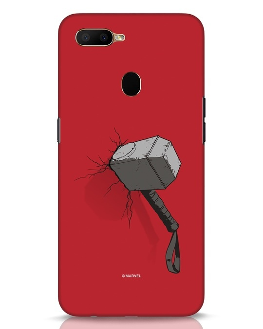 Shop Thor Hammer Oppo A5s Mobile Cover-Front