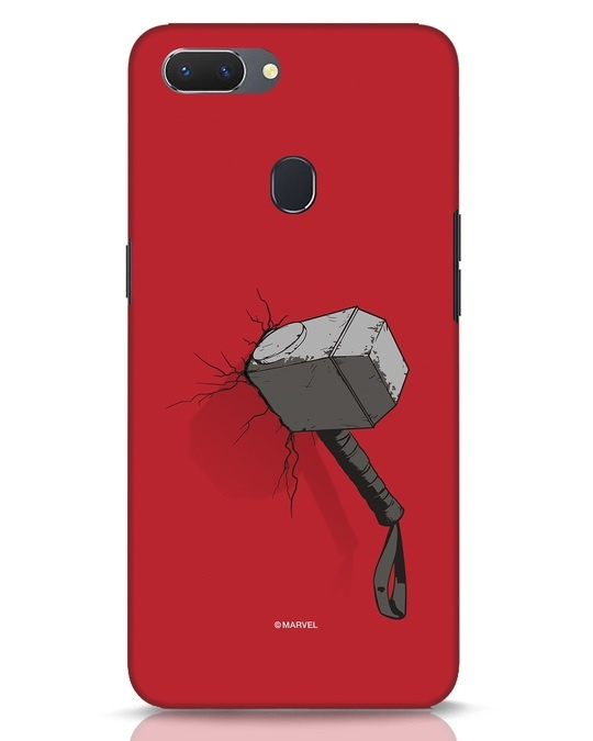 Shop Thor Hammer Realme 2 Mobile Cover-Front