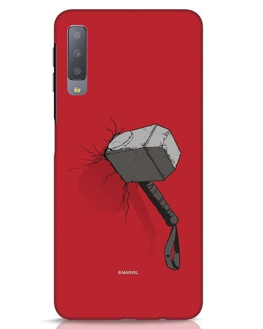 Shop Thor Hammer Samsung Galaxy A7 Mobile Cover-Front