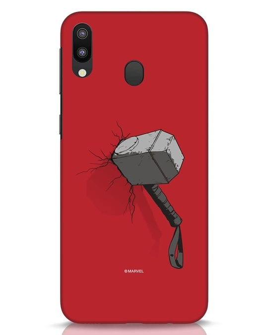 Shop Thor Hammer Samsung Galaxy M20 Mobile Cover-Front