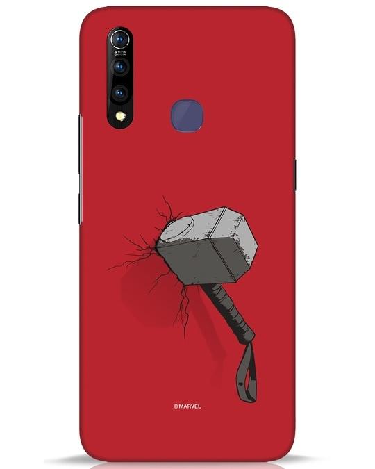 Shop Thor Hammer Vivo Z1 Pro Mobile Cover-Front