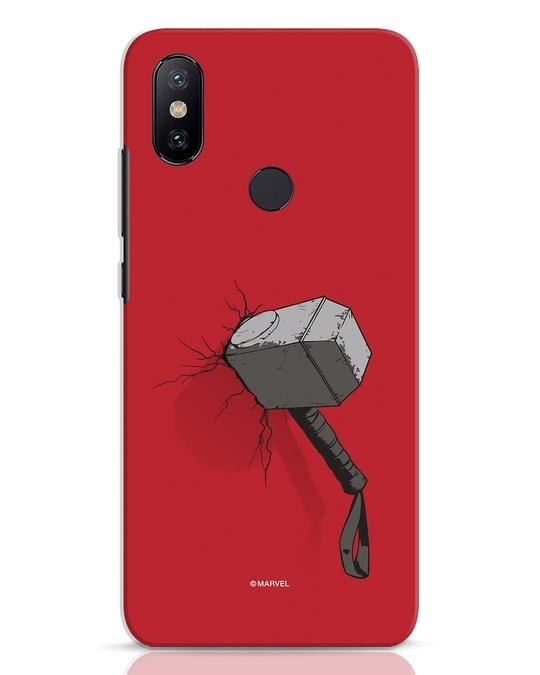 Shop Thor Hammer Xiaomi Mi A2 Mobile Cover-Front