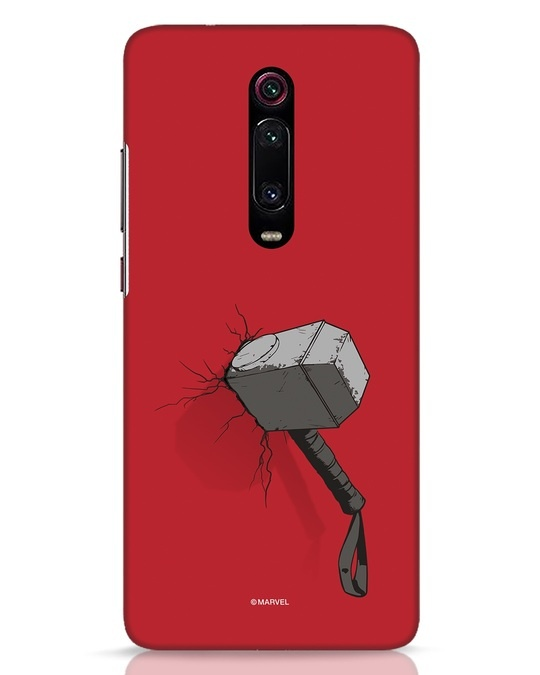Shop Thor Hammer Xiaomi Redmi K20 Pro Mobile Cover-Front