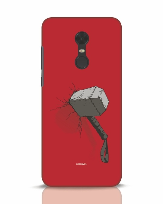 Shop Thor Hammer Xiaomi Redmi Note 5 Mobile Cover-Front
