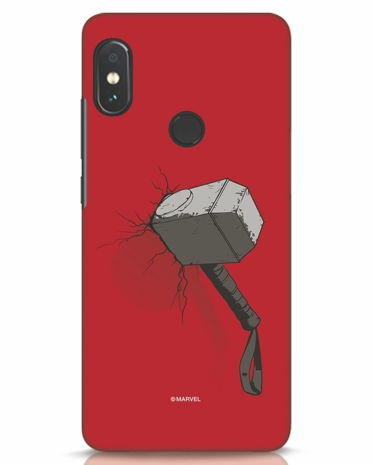 Shop Thor Hammer Xiaomi Redmi Note 5 Pro Mobile Cover-Front