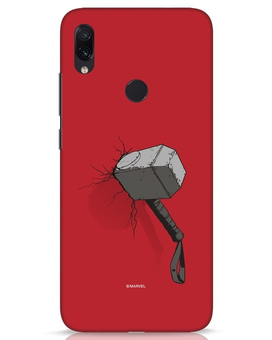 Shop Thor Hammer Xiaomi Redmi Note 7s Mobile Cover-Front