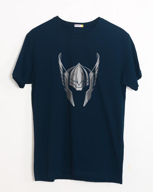 Shop Thor Helmet Half Sleeve T-Shirt (AVL)-Front