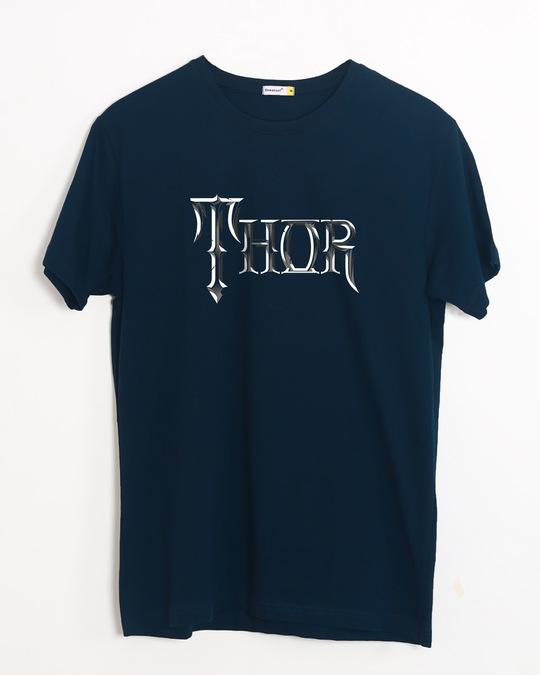 Shop Thor Typo Half Sleeve T-Shirt (AVL)-Front