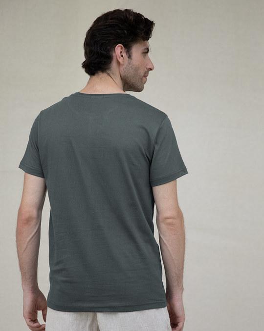 Shop Through The Smoke Half Sleeve T-Shirt-Design