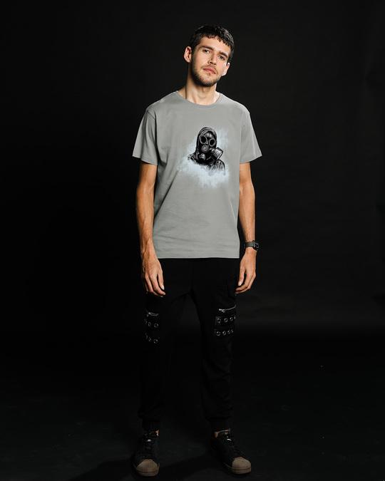 Shop Through The Smoke Half Sleeve T-Shirt-Full
