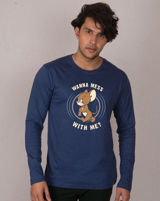 Shop Thug Jerry Full Sleeve T-Shirt (TJL)-Front