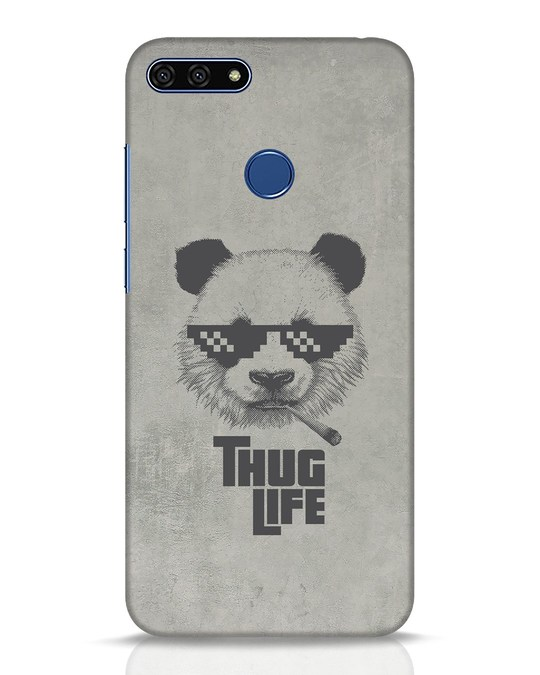 Shop Thug Life Huawei Honor 7A Mobile Cover-Front