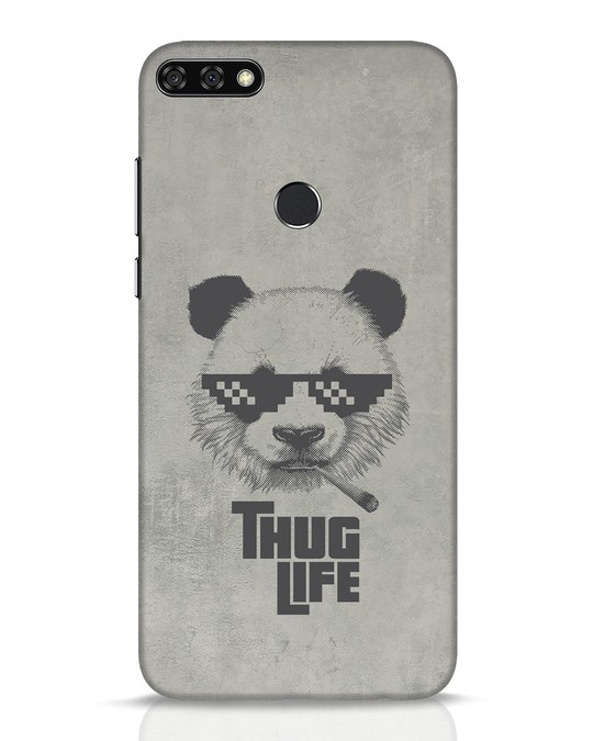 Shop Thug Life Huawei Honor 7C Mobile Cover-Front