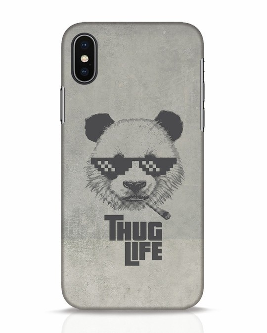 Shop Thug Life iPhone X Mobile Cover-Front